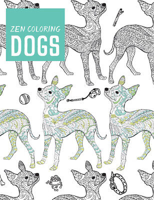 Guild Of Master Craftsman Books Zen Coloring: Dogs GU-42793
