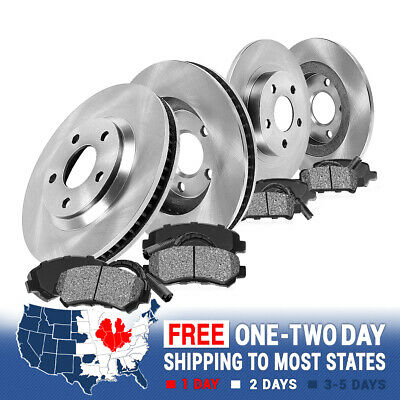 Front and Rear Rotors Metallic Pads 1999 2000 2001 2002 2003 2004 2005 VW JETTA