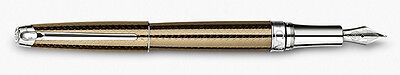 Caran D'ache Leman Caviar Broad Point Fountain Pen
