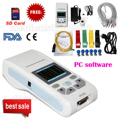 CE/FDA CMS50D+ Fingertip Pulse Oximeter SPO2 Monitor+USB and PC Software,USA