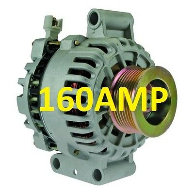ALTERNATOR HIGH OUTPUT Fits FORD F SERIES EXCURSION 7.3L V8 DIESEL 160AMP NEW