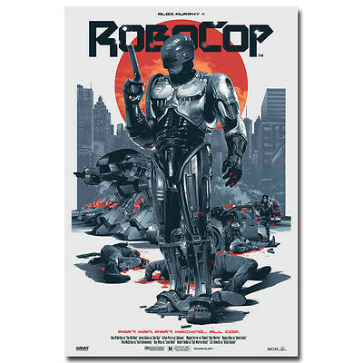 RoboCop Movie Silk Poster Art Print 12x18 24x36 inch Wall Decoration