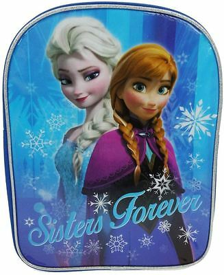Official Licensed DISNEY FROZEN | SISTERS FOREVER ICY GLOW | Backpack School Bag