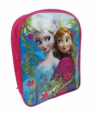 Disney Frozen | Elsa & Anna Backpack | rucksack | pretty pink