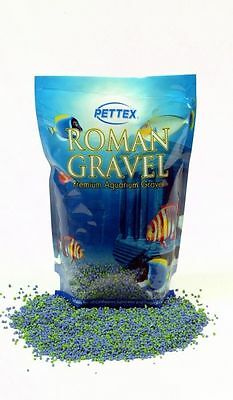 Pettex Roman Fish Tank Aquarium Gravel Aqua Blend 2kg