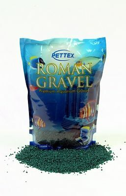 Pettex Roman Fish Tank Aquarium Gravel Ivy Green 2kg • EUR 7,07