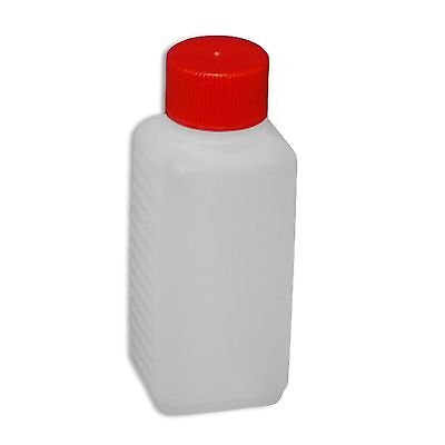 Plastic bottle, flask 100 ml, leakproof screw cap 3 different models (22009)