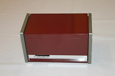 Snap On Cranberry Mini Micro Top Chest Tool Box Rare Brand New