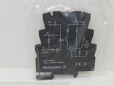 Weidmüller 8937990000 DIN Mount Solid State Relay