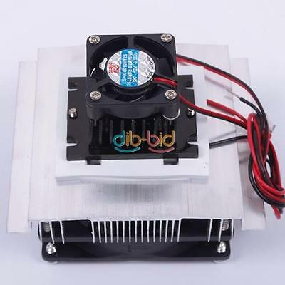 Thermoelectric Peltier Refrigeration System Kit Cooler Fan TEC1-12706 Module -UK