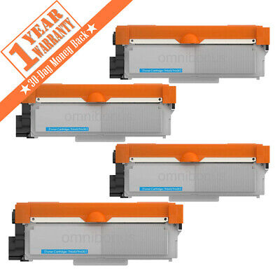 4 High Yield TN660 Black Toner Cartridge HL-L2300D For Brother DCP-L2540DW