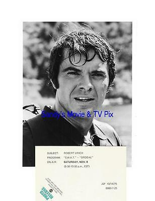 ROBERT URICH Terrific Original TV Photo S.W.A.T.