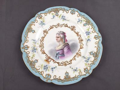 Sevres 1844 Madame Royale Hand Paint Porcelain Custom Order Chateau Tuileries