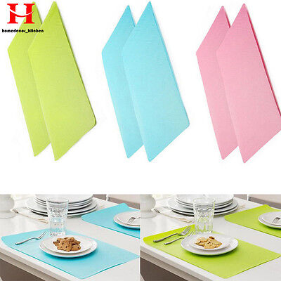 Non slip Insulation Bowl Hard Silicone Mat Placemat Heat Insulation Kitchen Tool
