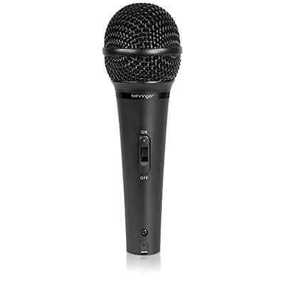 New Behringer ULTRAVOICE XM1800S Dynamic Cardioid Vocal Microphones, 3-Pack