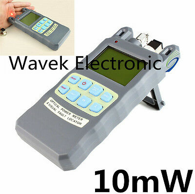 All-in-One Fiber Optical Power Meter -70~+10dBm & 10mW Visual Fault Locator