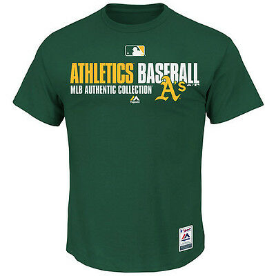 MLB Baseball Team Favorite T-Shirt OAKLAND ATHLETICS A's - Authentic Collection