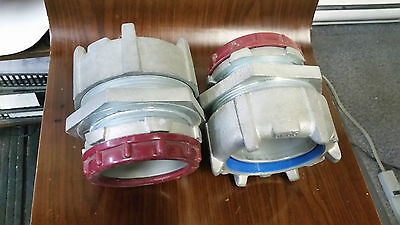 "Thomas & Betts 3"" Liquid Tight Connector Flexible Conduit Straight lot of 2"