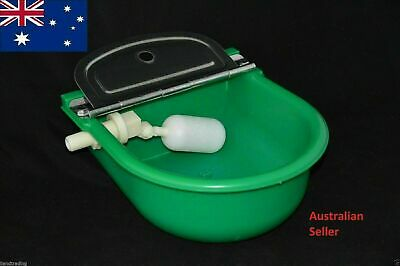 2x Automatic Water Trough for Sheep Horse Dog Chicken Cow Bowl Plastic Auto Fill