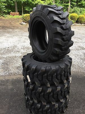 4-12-16.5 HD Skid Steer Tires-12X16.5-Solideal SKS 732- for Bobcat and others
