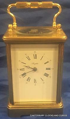 L'epee Vintage French Angliase Grande Corniche 8 Day French Carriage Clock