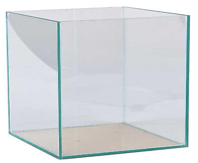 Aquarium 35x35x35cm Würfel Quadrat Cube Glasbecken 42 Liter transparent