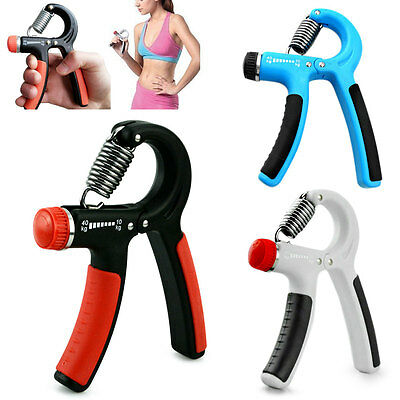 Hand Grip Strengthener Strength Trainer Exerciser Adjustable Resistance  Tool