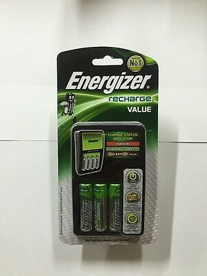 Energizer Recharge Value With 4 X AA Batteries Included