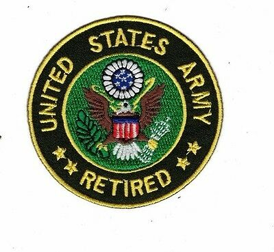 Embroidered Patch Iron Sew Logo Emblem Custom Tactical Moral Military U.S.Army 2