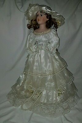 Beautiful large porcelain doll.