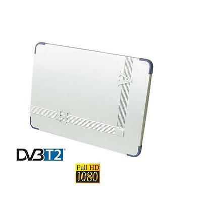Antenne Interieure Tnt Extra Plate  Dvb-T2  Full Hd Uhf
