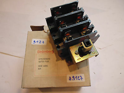 OESA 14X51 stromberg ABB Interrupteur sectionneur fusible Fuse switch 0ESA 14X51