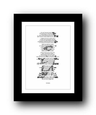 BRUCE SPRINGSTEEN Out In The Street ❤ song lyric poster art typography Print #28