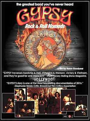 """""""Gypsy: Rock & Roll Nomads"""" Official Film Poster"""
