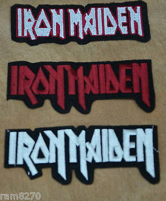 Iron Maiden Sew Iron On Jacket Patch Badge Heavy Metal Rock 13Cm Long
