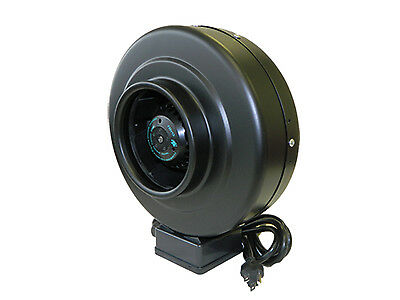 "4"" 6"" inch Hydroponic Inline Duct Fan Exhaust Blower Vent"