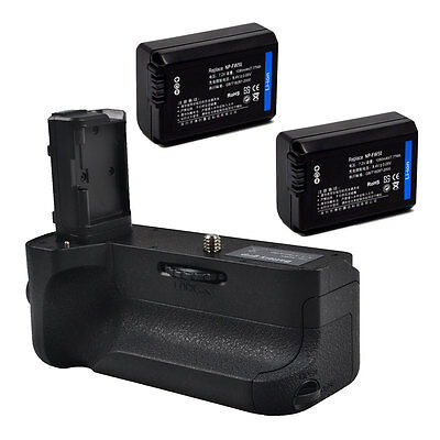 New Pro Battery Grip for Sony A7R II A7 II as VG-C2EM+ 2 Batteries as NP-FW50