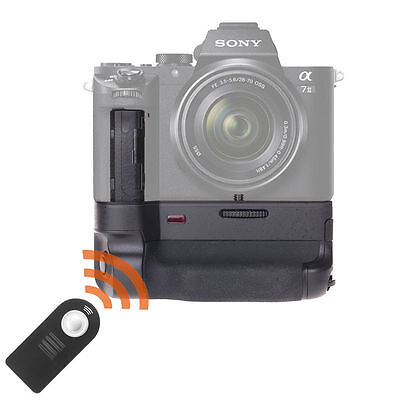 Pro Battery Grip Pack for Sony A7R II A7 II as VG-C2EM with AF& AE Lock Function