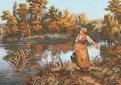 Grafitec Printed Tapestry/Needlepoint Canvas –The Water Carrier