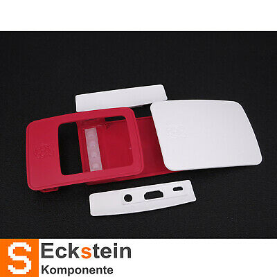 Official Gehäuse Raspberry Pi 2 / 3 Model B Case red/white RP02016