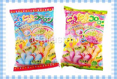 Kracie Popin Cookin Nyoki Nyoki Kokoron Soda & Grape Set of 2 Candy Making Kit