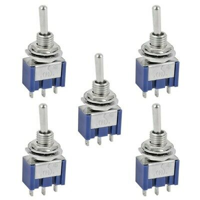 5x Mini Toggle Switch for Boat, Car Dashboard, Model Railway Arduino SPDT On-On