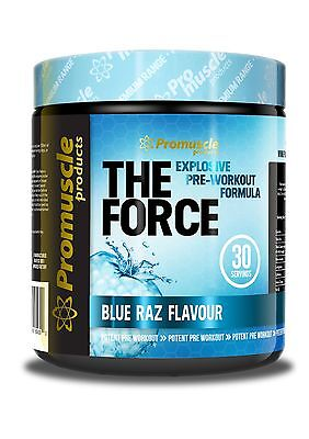THE FORCE - ULTIMATE PRE WORKOUT 30 Servings Energy Drink - ALL FLAVOURS