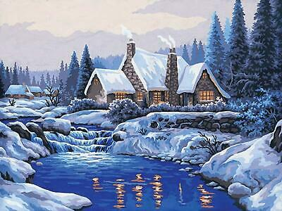 Grafitec Printed Tapestry/Needlepoint Canvas – Reflections in the Snow