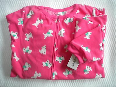 Nwt Carters Girls Size 8 Fleece Footed Pajamas 1 Piece 10 Patterns To Pick From