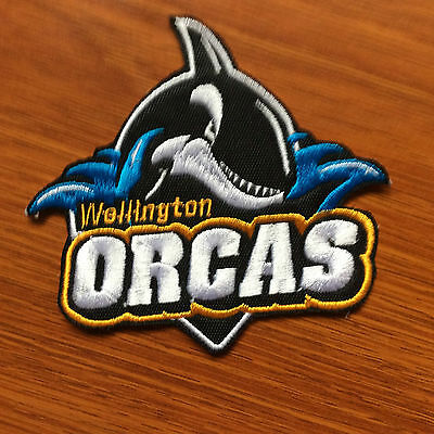 Patch Badge Wellington Orcas - New Zealnd Rugby League