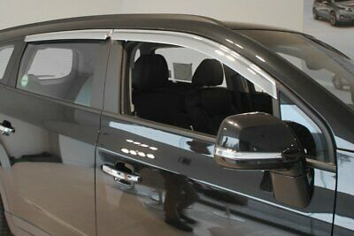 For Chevrolet Orlando Chrome Wind Deflectors Set (4 pieces)