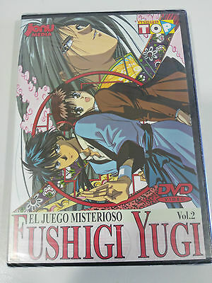 Fushigi Yugi Volumen 2 Dvd - Episodios 6-10 Manga Spanish Edition Jonu Media