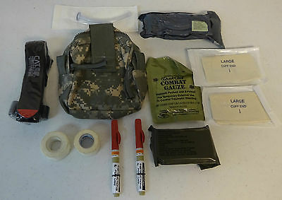 US Army Mole II Pocket Medic Pouch ACU With Medical Supplies New without Tags