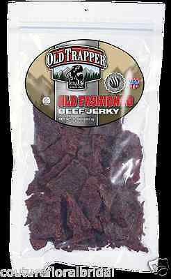 Old Trapper Old Fashioned Beef Jerky 10 OZ Free Shipping USA